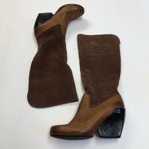 Cole Haan Lunarlite Suede Leather Boots